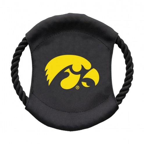 Iowa Hawkeyes Team Frisbee Dog Toy