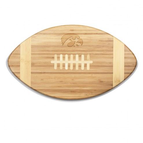 Iowa Hawkeyes Touchdown Cutting Board