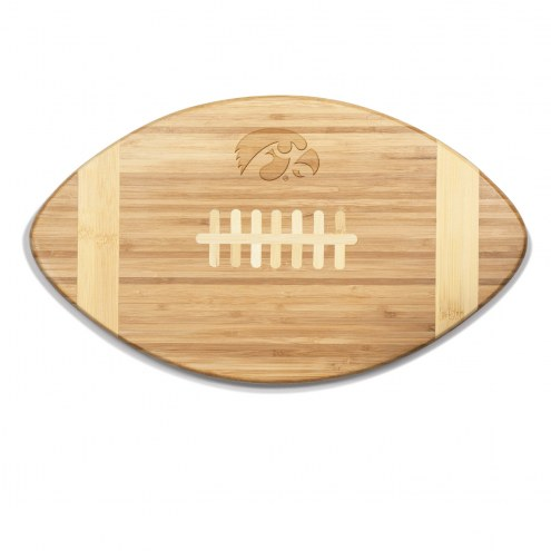 Iowa Hawkeyes Touchdown Cutting Board