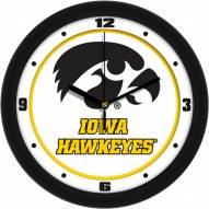 Iowa Hawkeyes Traditional Wall Clock