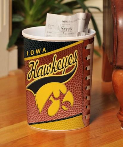 Iowa Hawkeyes Trash Can