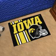Iowa Hawkeyes Uniform Inspired Starter Rug