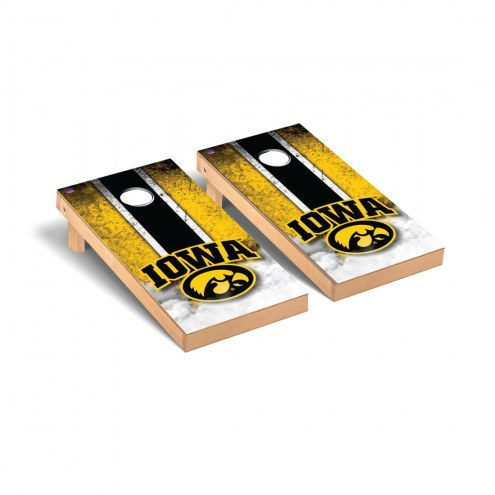 Iowa Hawkeyes Vintage Cornhole Game Set