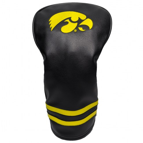 Iowa Hawkeyes Vintage Golf Driver Headcover