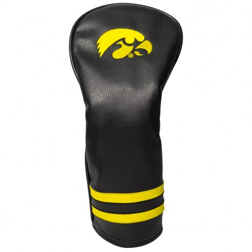 Iowa Hawkeyes Vintage Golf Fairway Headcover