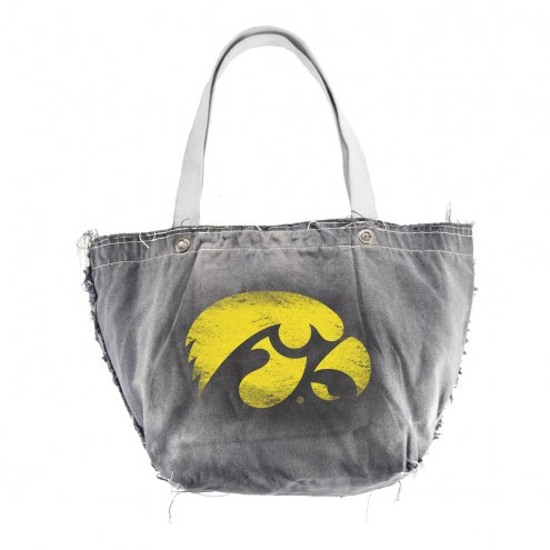 Iowa Hawkeyes Vintage Tote Bag