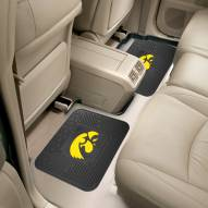 Iowa Hawkeyes Vinyl 2-Piece Rear Floor Mats