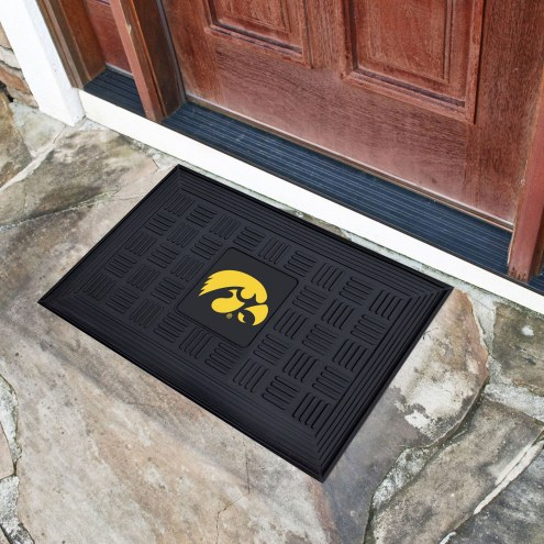 Iowa Hawkeyes Vinyl Door Mat