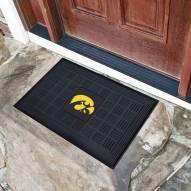Iowa Hawkeyes Vinyl Door Mat