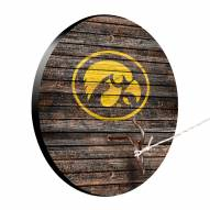 Iowa Hawkeyes Weathered Design Hook & Ring Game