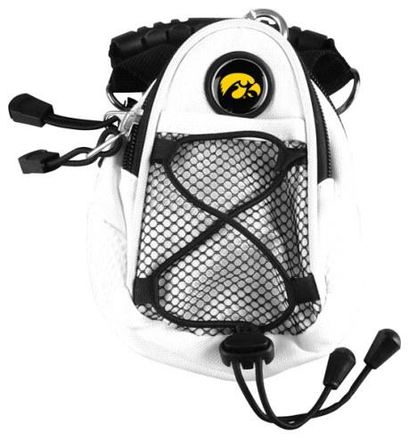 Iowa Hawkeyes White Mini Day Pack