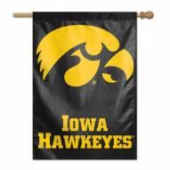 """Iowa Hawkeyes 28"""" x 40"""" Banner"""