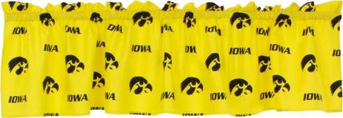 Iowa Hawkeyes Window Valance