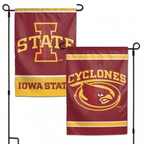 "Iowa State Cyclones 11"" x 15"" Garden Flag"