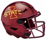 "Iowa State Cyclones 12"" Helmet Sign"