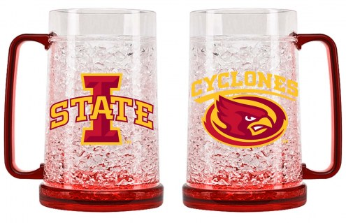 Iowa State Cyclones 16 oz. Crystal Freezer Mug