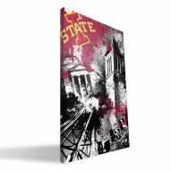 "Iowa State Cyclones 16"" x 24"" Spirit Canvas Print"