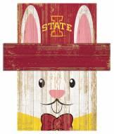 "Iowa State Cyclones 19"" x 16"" Easter Bunny Head"