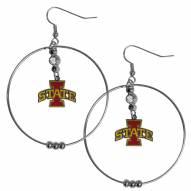 """Iowa State Cyclones 2"""" Hoop Earrings"""