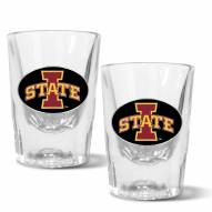 Iowa State Cyclones 2 oz. Prism Shot Glass Set