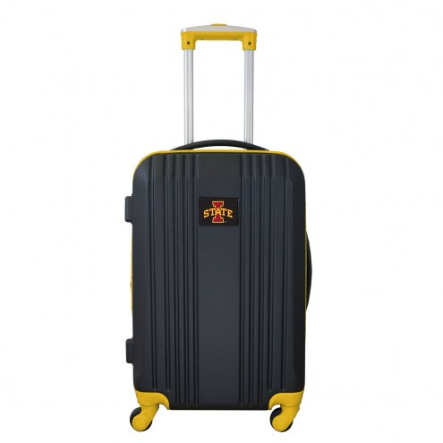"""Iowa State Cyclones 21"""" Hardcase Luggage Carry-on Spinner"""