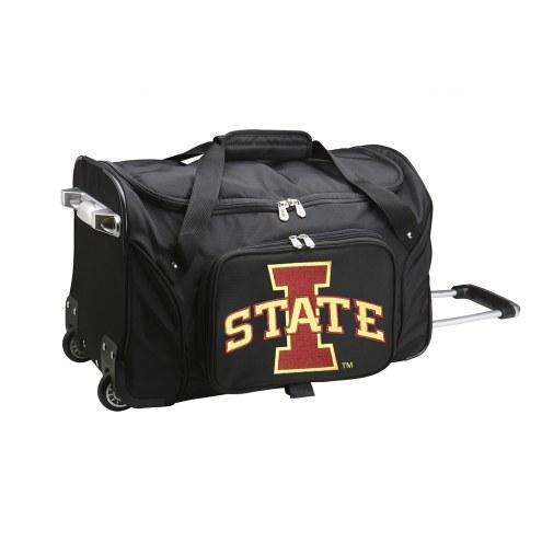 "Iowa State Cyclones 22"" Rolling Duffle Bag"