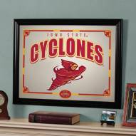"Iowa State Cyclones 23"" x 18"" Mirror"