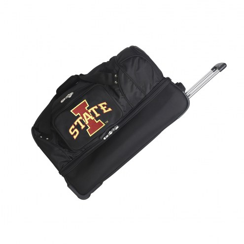 "Iowa State Cyclones 27"" Drop Bottom Wheeled Duffle Bag"