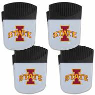 Iowa State Cyclones 4 Pack Chip Clip Magnet with Bottle Opener
