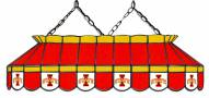 """Iowa State Cyclones 40"""" Stained Glass Pool Table Light"""