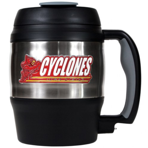 Iowa State Cyclones 52 oz. Stainless Steel Travel Mug
