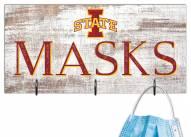 """Iowa State Cyclones 6"""" x 12"""" Mask Holder"""