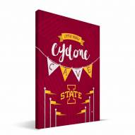 "Iowa State Cyclones 8"" x 12"" Little Man Canvas Print"