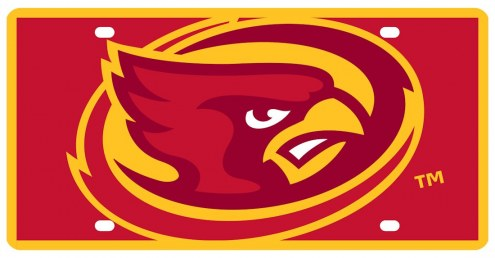 Iowa State Cyclones Acrylic Mega License Plate