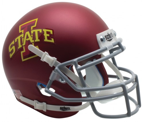 Iowa State Cyclones Alternate 1 Schutt Mini Football Helmet