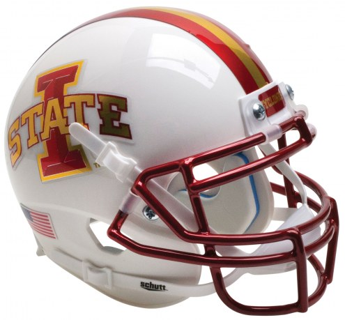 Iowa State Cyclones Alternate 2 Schutt XP Authentic Full Size Football Helmet