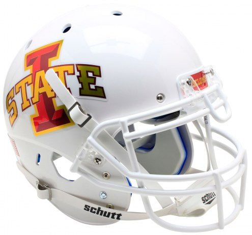 Iowa State Cyclones Alternate 6 Schutt XP Authentic Full Size Football Helmet