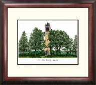 Iowa State Cyclones Alumnus Framed Lithograph