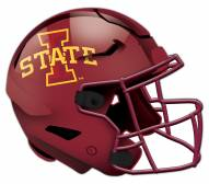 Iowa State Cyclones Authentic Helmet Cutout Sign