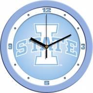 Iowa State Cyclones Baby Blue Wall Clock