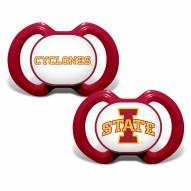Iowa State Cyclones Baby Pacifier 2-Pack