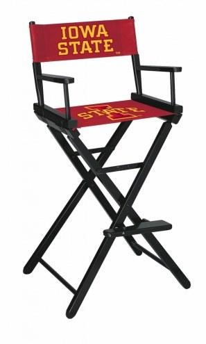 Iowa State Cyclones Bar Height Director's Chair