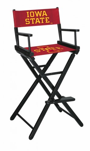 Iowa State Cyclones Bar Height Director's Chair
