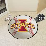 Iowa State Cyclones Baseball Rug