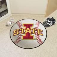 Iowa State Cyclones Baseball Rug