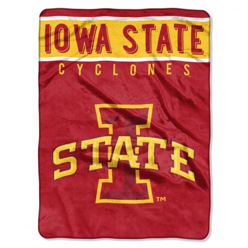 Iowa State Cyclones Basic Plush Raschel Blanket
