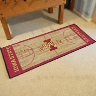 Iowa State Cyclones Basketball Court Runner Rug