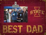 Iowa State Cyclones Best Dad Clip Frame