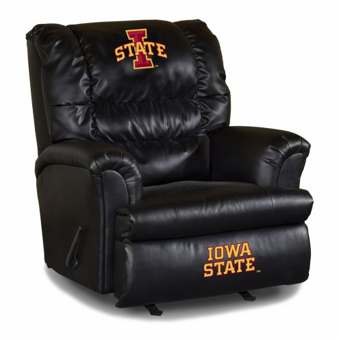 Iowa State Cyclones Big Daddy Leather Recliner