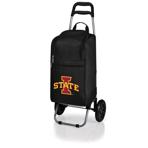 Iowa State Cyclones Black Cart Cooler